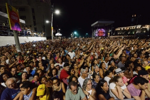 Participações especiais no show de Maria Bethânia-11