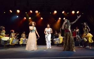 Participações especiais no show de Maria Bethânia-2