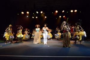 Participações especiais no show de Maria Bethânia-3
