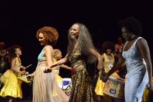 Participações especiais no show de Maria Bethânia-5