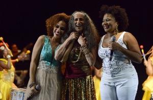 Participações especiais no show de Maria Bethânia-6